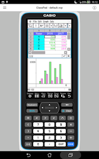 CASIO ClassPad Screenshot