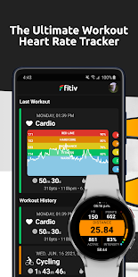 FITIV Pulse: Heart Rate Monitor + Workout Tracker