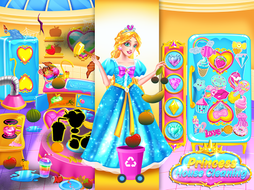Princess Castle House Cleanup - Cleaning for Girls  screenshots 5