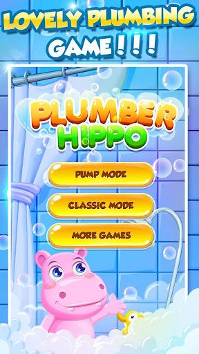 Bathe Hippo - Connect Pipes  screenshots 6