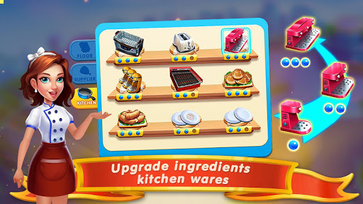 Cooking Marina - fast restaurant cooking games 1.8.06 Screenshots 7