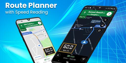 Digital Speedometer - GPS Offline odometer HUD Pro 3.5.7 Screenshots 6