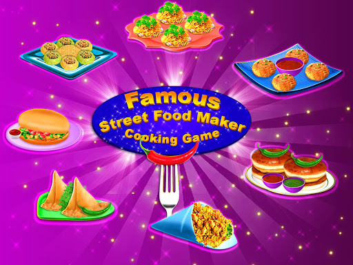 Yummy! Famous Indian Street Food Cooking Game  screenshots 8