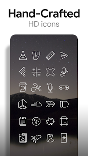 Linien Free - Icon Pack Screenshot