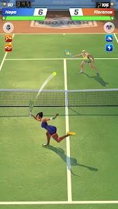 Tennis Clash Mod APK [3D Sports] 1v1 Free Online Sports Game 3
