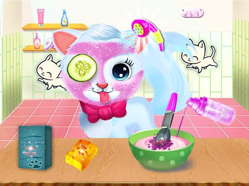 Cute Kitty Daycare Activity - Fluffy Pet Salon 6.0 screenshots 2