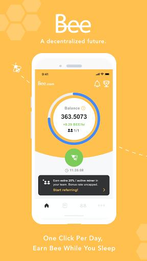 Bee Network:Phone-based Digital Currency 1.2.2 screenshots 1