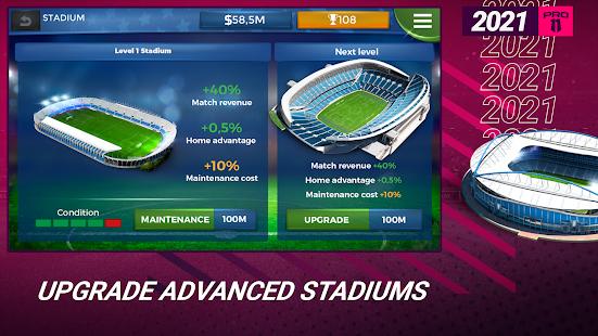 Pro 11 - Football Management Game 1.0.82 Screenshots 2