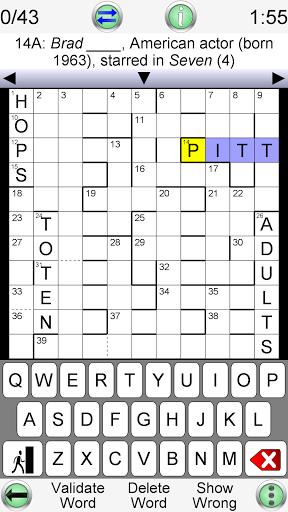 Barred Crossword modiapk screenshots 1