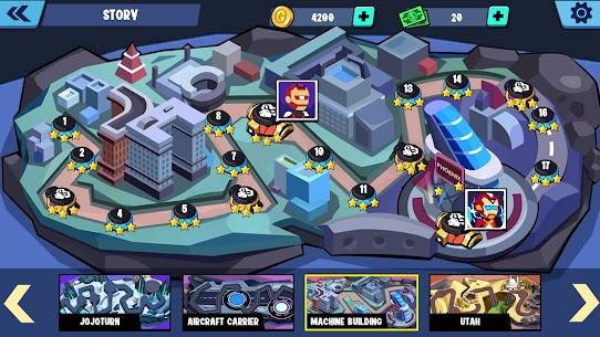 Stickman Heroes Fight – Super Stick Warriors Mod Apk (No Skills/Ultimate) 7