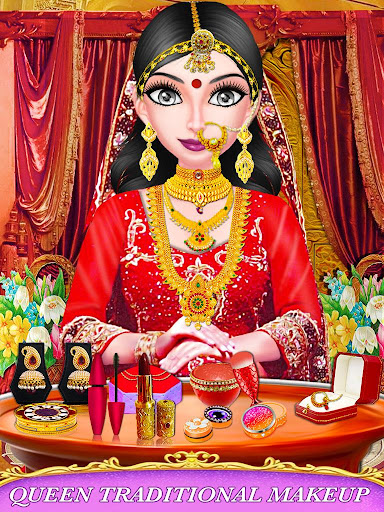 Indian Royal Wedding Beauty - Indian Makeup screenshots 4
