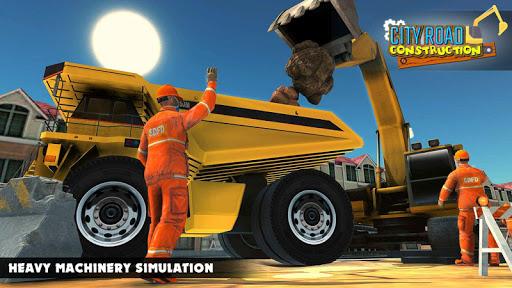 Mega City Road Construction Machine Operator Game 3.9 screenshots 13