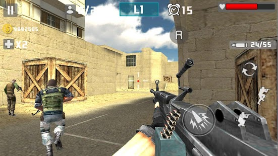Gun Shot Fire War Screenshot