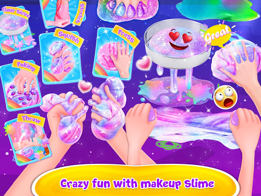 Bubble Balloon Makeup Slime  - Slime Simulator  screenshots 12