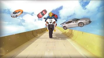 Super Hero Bike Mega Ramp 2