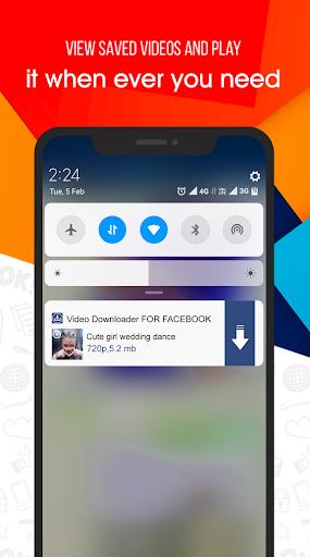 Video Downloader for Facebook apktram screenshots 5