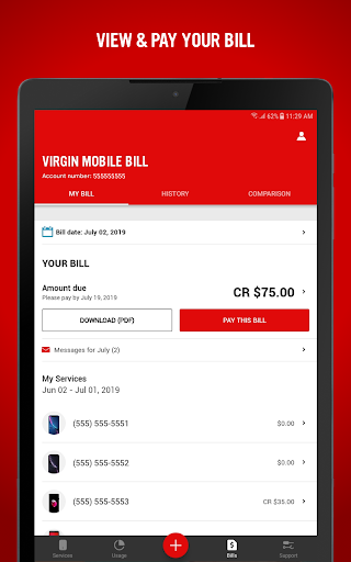 Virgin Mobile My Account 7.4.0 screenshots 8