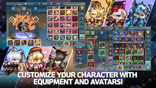 Raid the Dungeon : Idle RPG Heroes AFK or Tap Tap apkmr screenshots 20