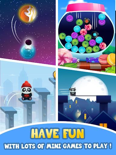 Pu - Cute giant panda bear, virtual pet care game 3.1 screenshots 10