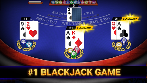 Blackjack Casino 2021: Blackjack 21 & Slots Free 3.0 screenshots 1