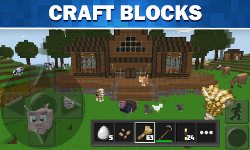 WorldCraft: 3D Build & Block Craft 3.7.1 Screenshots 2