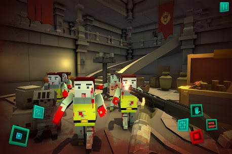 Zombie Pixel Warrior 3D APK + MOD (Unlimited Money) 3