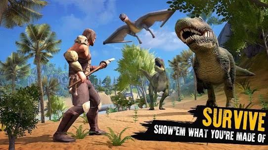 Jurassic Survival Island: Dinosaurs & Craft Mod Apk 4.1 (Unlimited Coins/ Gems) 7