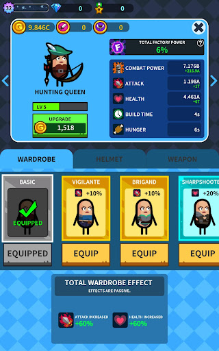 Hero Factory - Idle Factory Manager Tycoon 3.0.23 screenshots 10