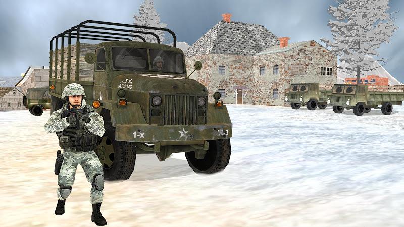 Off-road Jeep Drive-Winter Season Simulator v1.7