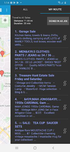 Yard Sale Treasure Map apktram screenshots 3