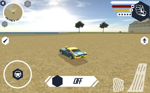 Muscule Car Robot  screenshots 2