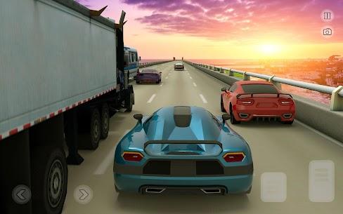????️ Süper Otoyol Araba Yarışı Oyunları: Sonsuz yar Apk Son Sürüm 2021 4