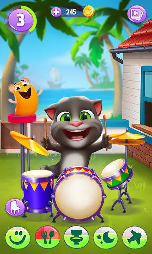 Code Triche Mon Talking Tom 2  APK MOD (Astuce) screenshots 1
