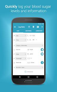 Diabetes:M - Management & Blood Sugar Tracker App screenshots 2
