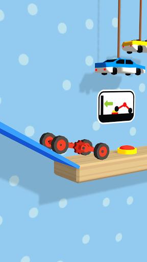 Folding Car puzzle games: fun racing car simulator  screenshots 4