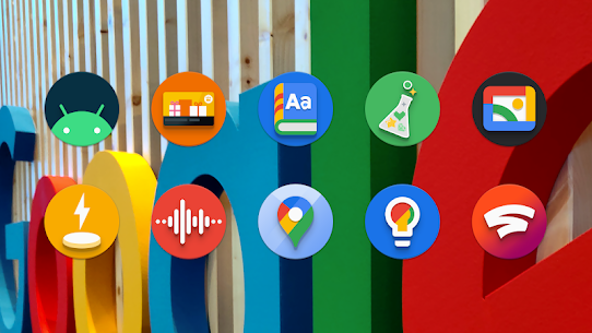 PieCons Apk- Ultimate Android Pie Icon Pack 3.6 (Patched) 1