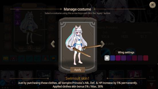 Rogue-like Princess : OFFLINE PIXEL RPG