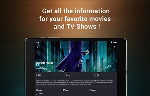 CineTrak: Your Movie and TV Show Diary Screenshot