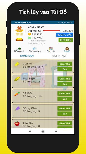 Nong Trai Kiem Tien - NTKT 2021 screenshot 3