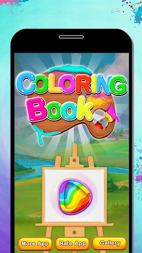 Fruits Coloring Book & Drawing Book android2mod screenshots 1