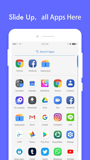 DC Launcher - Android Oreo Style, Fast & Simple 1.0.16 Screenshots 2
