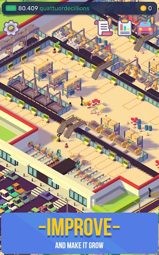 Télécharger Gratuit Car Industry Tycoon - Idle Car Factory Simulator apk mod screenshots 2