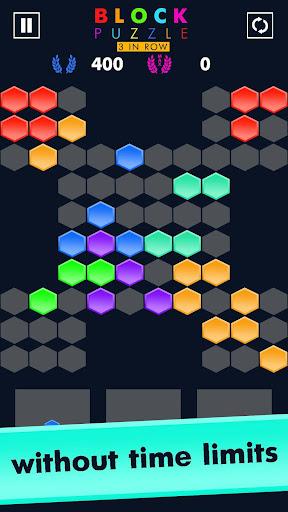 Block Puzzle Match 3 Game apktram screenshots 4