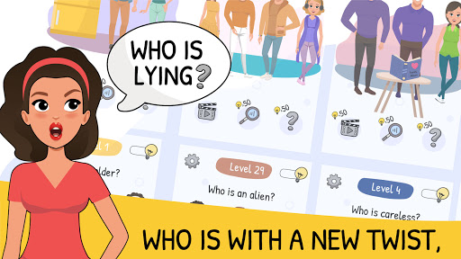 Who is? 2 Tricky Chats and Brain Puzzles 1.1.1 screenshots 1