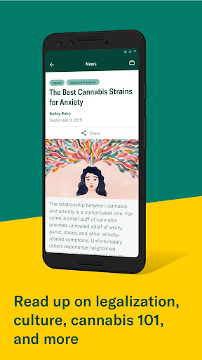 Leafly: Find your cannabis and CBD 7.15.0 Screenshots 7