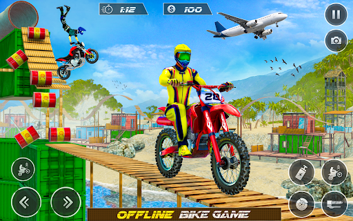 Real Bike Racing Bike Jump Racing Moto Bike Mayhem  screenshots 1