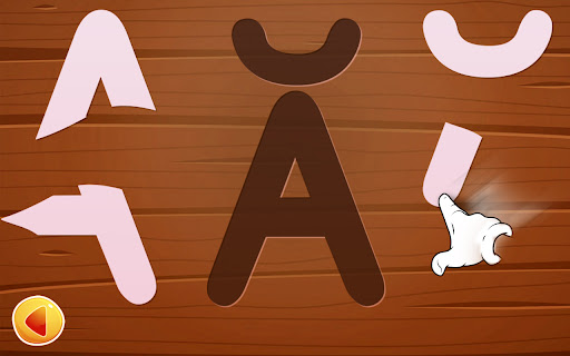 Alphabet game for kids - learn alphabets 4.1.0 screenshots 2