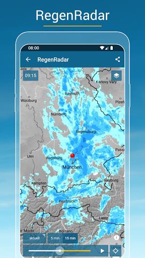 RegenRadar - Vorhersagen & live Wetterradar  screenshots 2