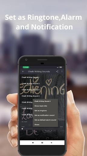 Chalk Writing Sounds Ringtones screenshots 2
