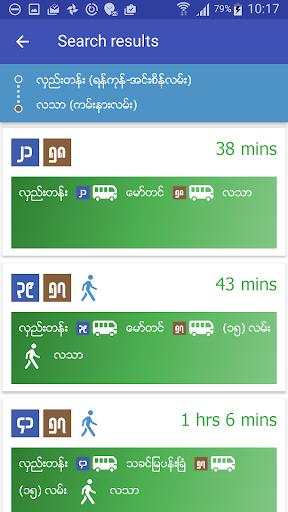 Yangon Bus (YBus) 2.1.1 Screenshots 3